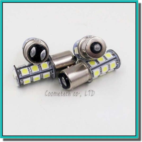 Hohe Qualität 1156 382 BA15S p21w 1157 BAY15D p21 / 5w bay15d PY21W led glühbirne 18 smd 5050 Brems Schwanz Blinker Glühbirne Lampe 12 V