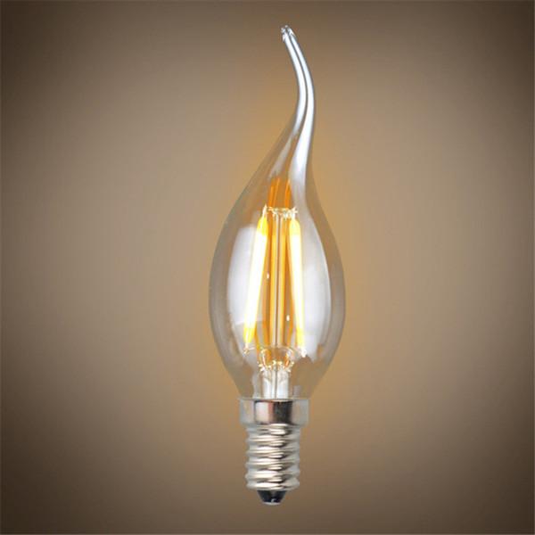 Verre Substrat Vente 220 Lampe Base Acheter Led Blubs 110 Haute Bougie V De Puissance Cuivre Ampoules E14 2w Chips Ac Filament Matériel Epistar BhQsxotrdC