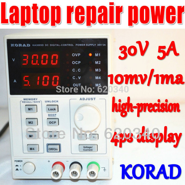 Free shipping KORAD KA3005D Lab Grade Precision Variable Adjustable Digital Regulated power supply DC Power Supply 4Ps mA 30V/5A order<$18no