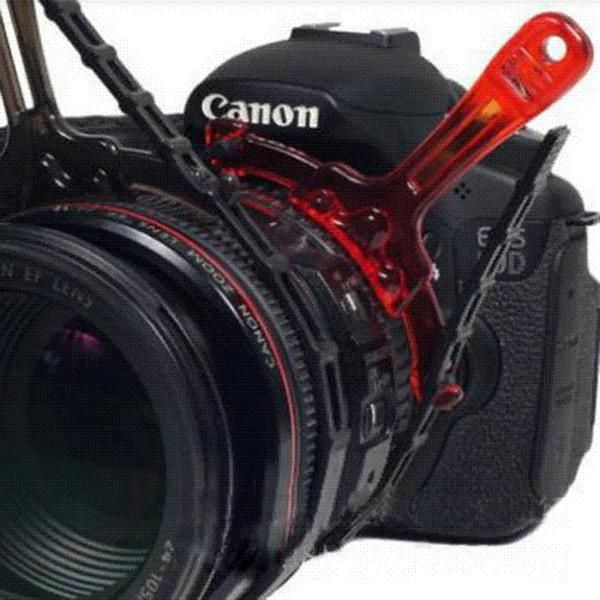 Einstellbare manuelle Follow-Fokus-Zoom-Ringlinsenhalterung Für Digital-DSLR-Kamera-Motorkameragurt-Stativhalterung