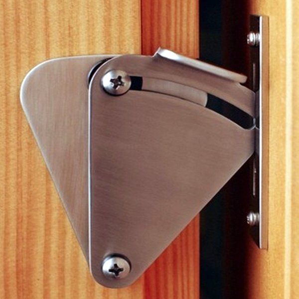 best selling High quality Barn wood sliding door lock Stainless steel door bolts safety latch for interior door