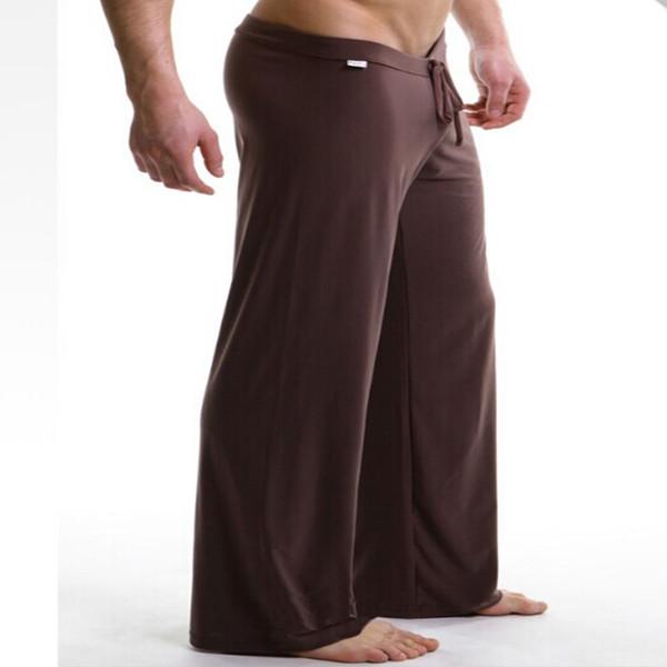 Compre Yoga Pantalones Para Hombre Pantalones De Dormir Ropa De Dormir Sexy Para Hombres Manview Yoga Pantalones Largos Bragas Ropa Interior Pantalones Envio Gratis A 8 69 Del Galilean Dhgate Com