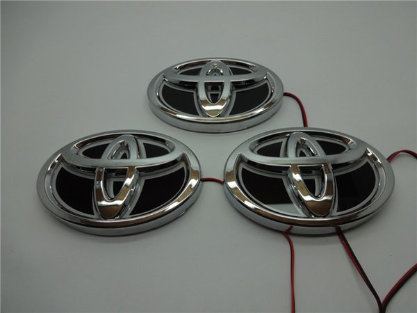 Toyota Car Logos For Front Rear 5d Car Led Logos Waterproof Car