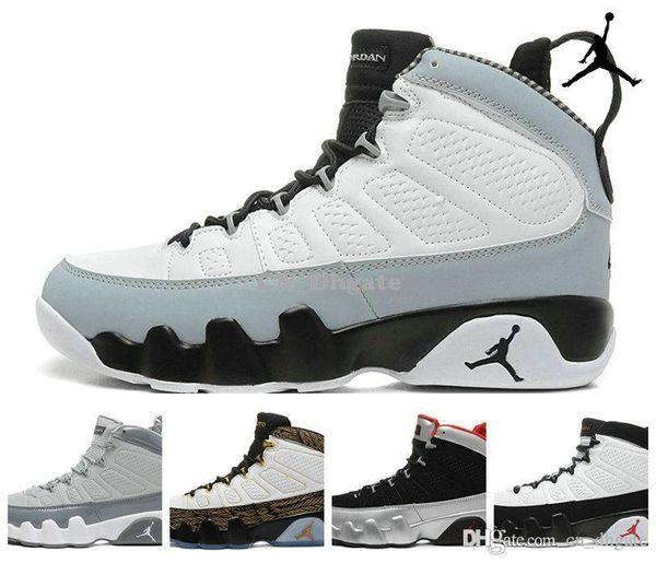new style c583e 40951 Nike Air Jordan 9 Retro Barons Johnny Kilroy Doernbecher Cool Grey Black  Mens Basketball Shoes, Brand New AJ9 Retro 9 IX Sneakers J9s 41 47 Shoes  Kids ...