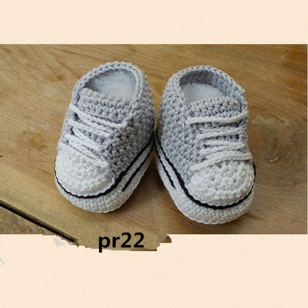 Baby crochet sneakers shoes infants toddlers kids babies booties Handmade gray crochet sneaker shoes sandals shoes