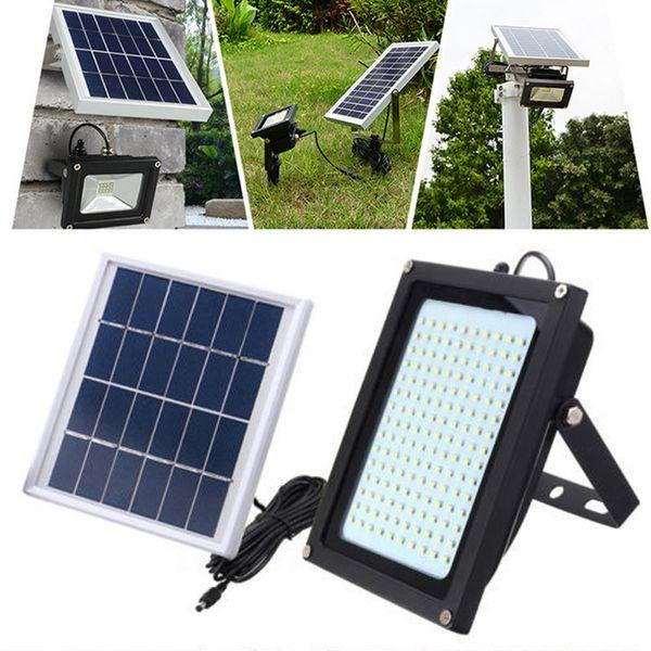 18pcs 8W 150LEDs Ultra Bright Solar Power LED Flood Light Lamp Motion Sensor Outdoor Garden Security Wall Lamp Street Light Floodlight