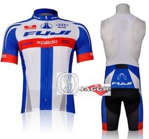 best selling Wholesale-Free shipping! FUJI 2015 pro short sleeve cycling wear clothes short sleeve bicycle bike riding jerseys+pro jacket
