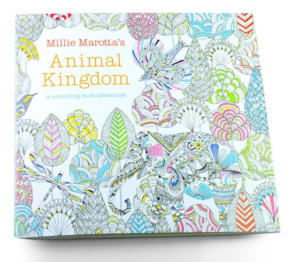 Secret Garden Lost Ocean An Inky Treasure Hunt And Coloring Book Animal Kingdom With Coloured Pencils