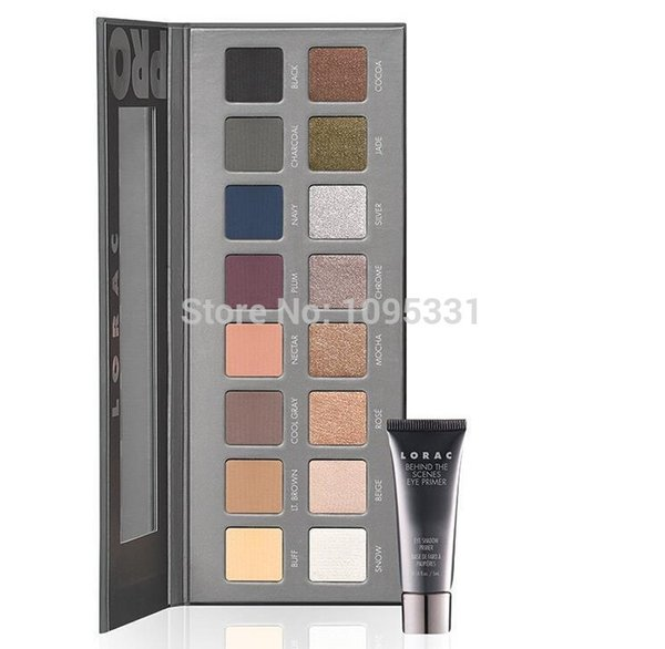 2014 New LORAC eyeshadow makeup Generation 2 lorac PRO palette 2 16 color eye shadow palette with eye primer makeup set
