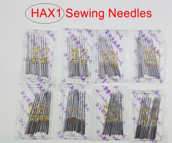 100pcs(11# 12# 14# 16# 18#)10 per bag/Household Sewing Machine Needles HA*1 For Singer Brother Janome Toyota Juki also fit old sewing macine