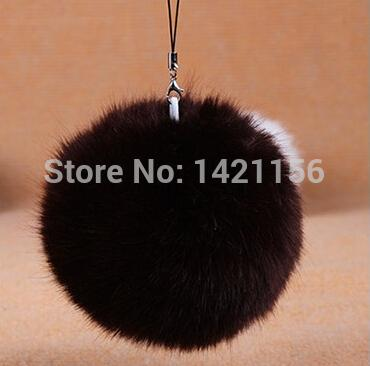 Atacado-fofo! Boa qualidade 10 pcs DIY bolas de pêlo falso D10 para gorros chapéus / chave / sacos / knited cap / iphone pompons da pele do falso frete grátis