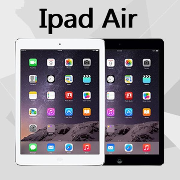 "top popular 100% Original Refurbished Apple iPad Air 16GB 32GB 64GB Wifi iPad 5 Tablet PC 9.7"" Retina Display IOS A7 refurbished Tablet DHL 2020"