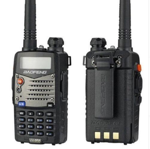 4pcs / lot walk talk Baofeng UV-5RA per la polizia Walkie Talkies Scanner Radio Vhf Uhf Dual Band Cb Ham Radio ricetrasmittente 136-174