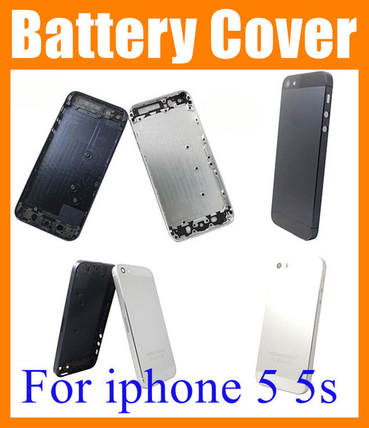 Battery Cover for iphone 5 5G iphone 5s Black White Back Cover Battery Housing case Replacement high Original copy SNP002