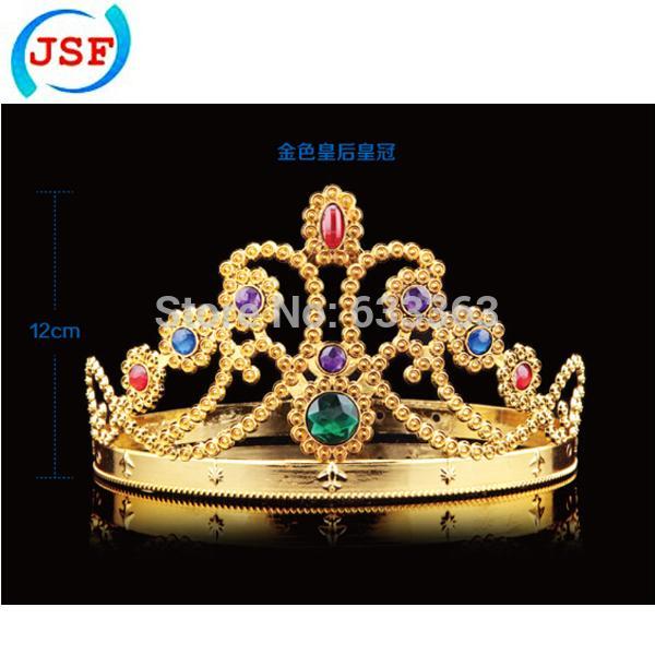 Al por mayor-King Queen The Crown con diamantes naturales, JSF-FB1017