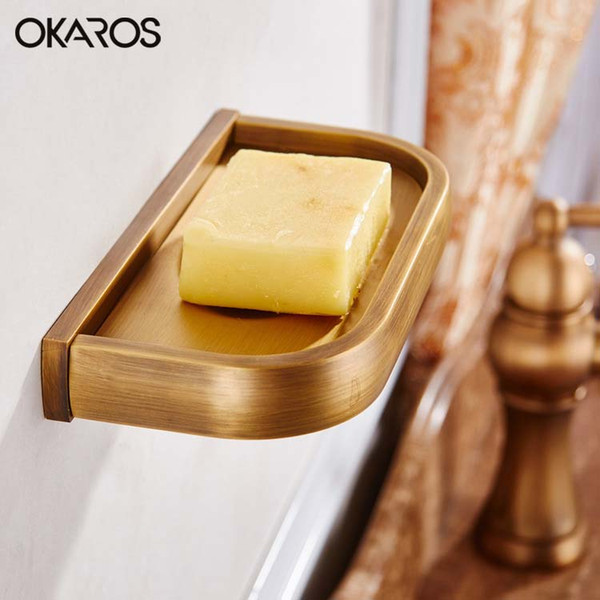 Incredible 2019 Wall Mounted Soap Dish Holder Solid Brass Soap Dispenser Copper Chrome Gold Rose Golden Antique Black Bathroom Accessories From Hopestar168 Theyellowbook Wood Chair Design Ideas Theyellowbookinfo