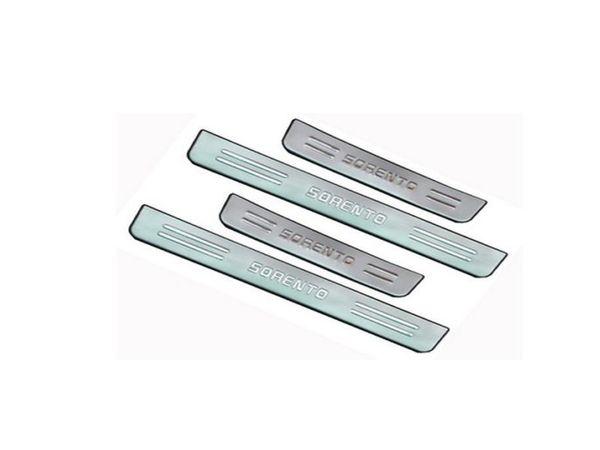 for KIA Sorento 2006-2013 Stainless Steel Scuff Plate/Door Sill car accessories for KIA Sorento
