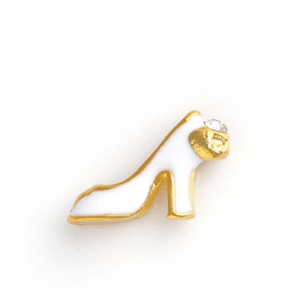"20PCS/Lot!!""High-Heeled Shoes""Floating Charms DIY Floating Locket Charms Fixed Colors Fit Floating lockets& Bracelets FC276"
