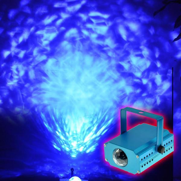 die rgb led wasser welle welleneffekt bühne licht leuchten laser projektor PT