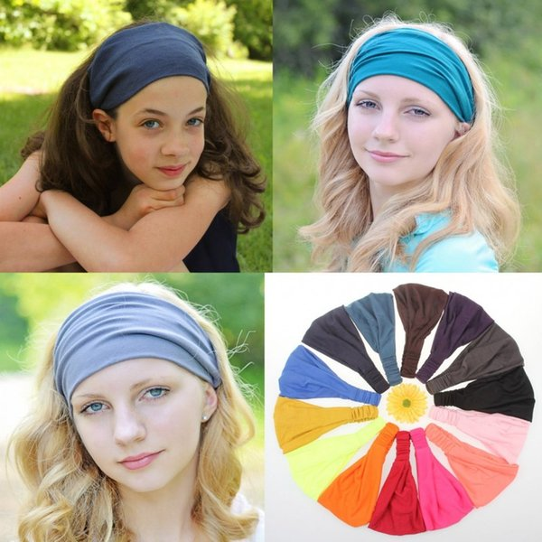 winter Fashion Womens Adult Lady Winter Autumn Knit Headbands Warm Hoop Wide Plait Headbands ear warmer Wool Hair Bands D690J