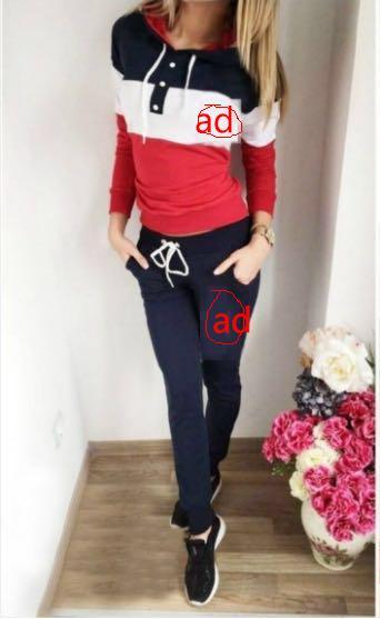 Compre 2017 Marca Chándal Mujeres Deporte Suit Hoodie Sudadera + Pantalón Femme Marque Survetement Sportswear 2 Unid Conjunto De Moda Gimnasio Casual
