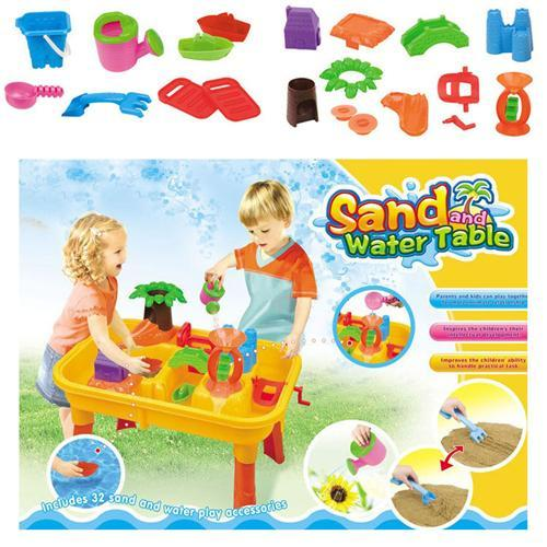 Beach Toys Play House Beach Toys Hot Children Play House Paddle Wheel Sand Castle Tool Suits Kids Plastic and Funny Beach Toys