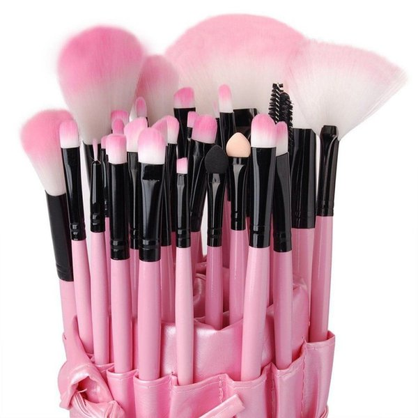 Vander Professional 32pcs Makeup Brushes Set Cosmetic Powder Foundation Eyebrow Lipstick Pinceaux Kabuki Kit Tool + Case Bag