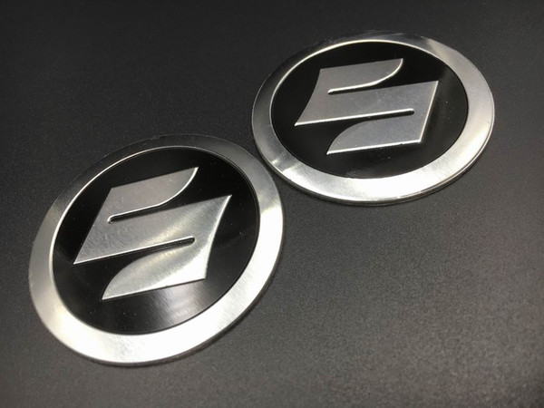 best selling 55mm Fuel Gas Tank Emblem Decal S Logo for Suzuki Fairing Badge Racing Bike Automobiles Motorcycle Stickers