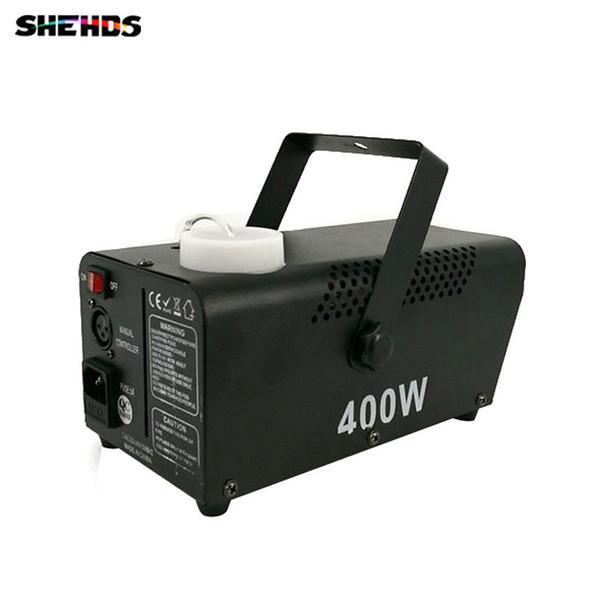 Mini 400W RGB 3IN1 fog machine Remote Control pump DJ Disco Smoke Machine for Party Wedding Christmas Stage Fogger Machine DMX Stage