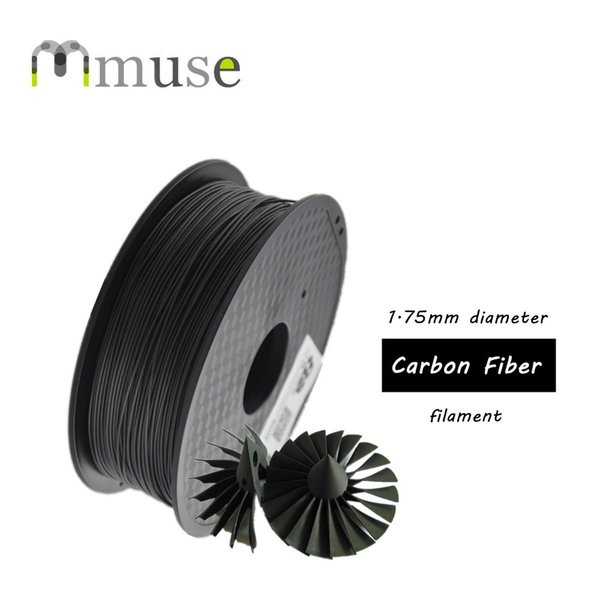 1kg High Quality 3D Printing Material 1.75mm Diameter Carbon Fiber Filament Based on ABS Filament