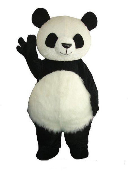 top popular 2018 High quality Giant Panda Mascot Costume Christmas Mascot Costume Free Shipping 2020