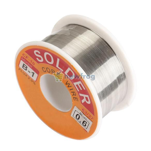 0.6mm New Tin Lead Tin Wire Melt Rosin Core Solder Soldering Wire Roll S7NF