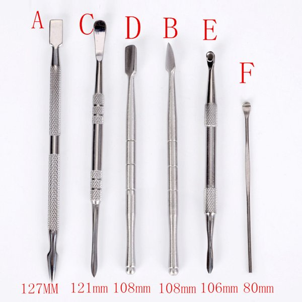 High Quality Wax Tool Dabber Wax Atomizer 6 Styles 80mm To 120mm Dab Tool Dry Herb Vaporizer for Container Vapor Pen Kit