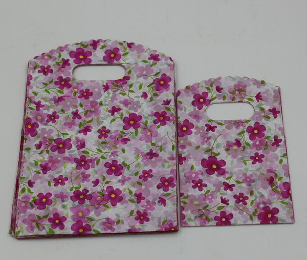 best selling Hot Sales ! Jewelry Pouches .200pcs Flower Plastic Bags Jewelry Gift Bag .9X15cm   13x20cm  15x20cm Etc.