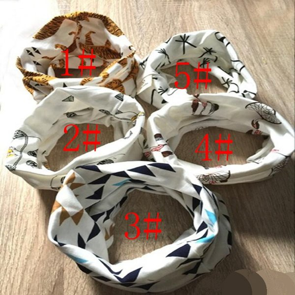 best selling 5 Colors Tiger Panda Winter Warm Ring Neckerchief 2016 Children Baby Boy Girl Scarves Toddler Kids Scarf Infants O Ring Child Neck Scarves