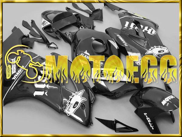 Top Fairing Motoegg Fairings Bestselling Injection Mold Plastic Kits For Honda CBR1000RR 04 05 CBR 1000RR 2004 2005 Body Kit Black H14M37
