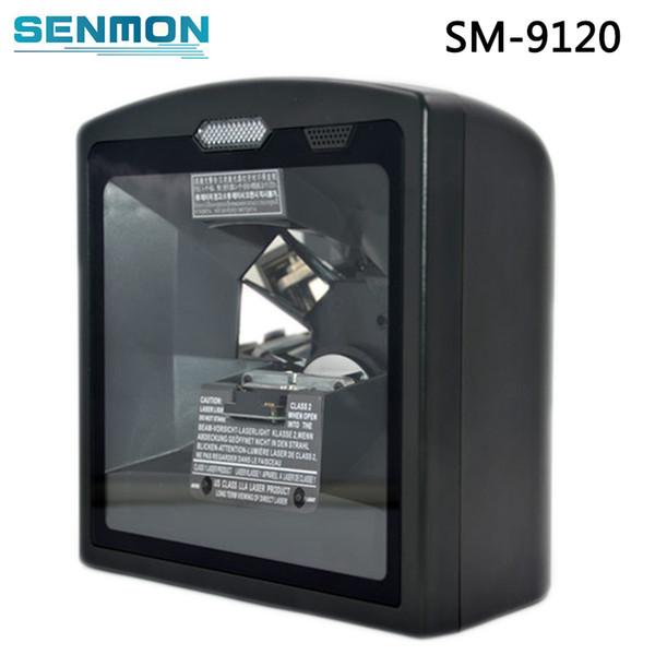 Wholesale- SM-9120 Excellent working high sensitive decoding oem barcode reader module/barcode scanner 1d laser for supermarket project