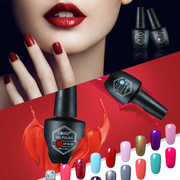 Wholesale- Elite99 Nail Gel Polish Gorgeous 59 Color Soak Off UV Lamp Gel Lak Professional Salon Nails Painting Gel Polish Lacquer 10ML/PCS