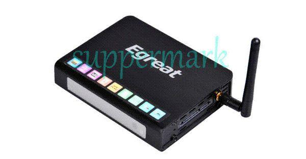 New Egreat R6S WIFI 3D HD 1080p HDMI 1.4 BluRay Network 2.5'' 3.5''SATA HDD Media Player Realtek 1186 Free shipping