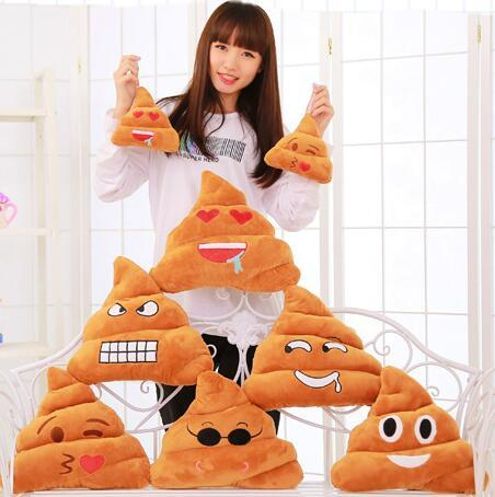Emoji Peluş Yastık Yastık Bolster Cojines Kanepe Yastıklar Yastık Emoji Yastık Hediye Oyuncak Bebek Yılbaşı Hediyesi