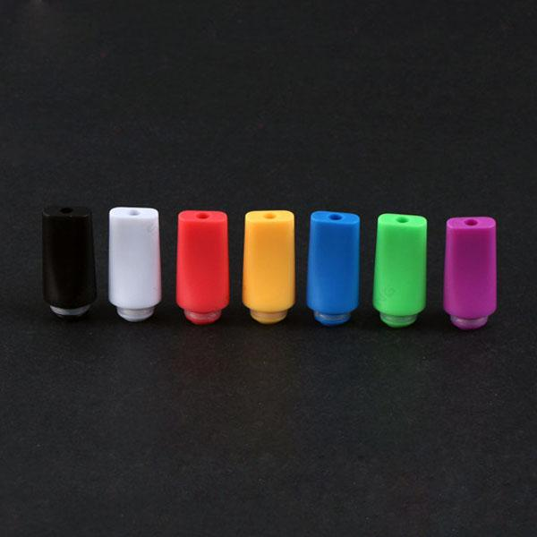 Hot Selling Candy 510 Plastic Drip Tips Flat Style Drip Tip ego vaporizer tips mouthpieces for atomizer ce4 best rda rba E Cigarettes mod