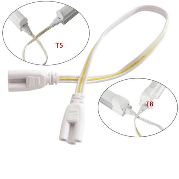 50 см соединительный провод кабель LED T5 T8 трубы 3 отверстия двойной женский удлинитель для люминесцентного освещения фитинга 10 шт.