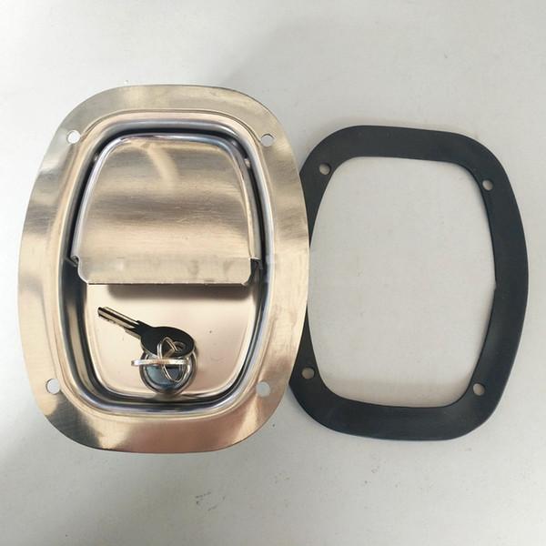 serratura del camion Hardware della porta Armadio elettrico Gruppo elettrogeno casella del rimorchio della cassetta degli attrezzi serratura della maniglia dell'attrezzatura del macchinario di ingegneria industriale