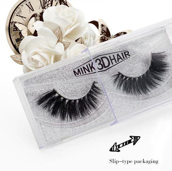 19 Styles 3D Mink Eyelashes Upper Real Mink Lashes Soft Natural Long False Eyelashes 1 pair Handmade Fake Eye Lashes Extension CCA8350 30set