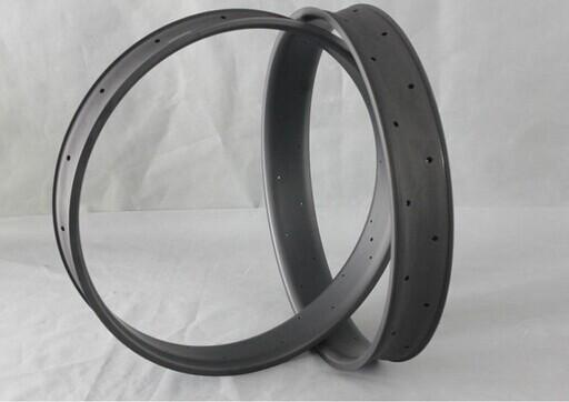 smart balance profilo di alta qualità fibra di carbonio integrale T700 ud matt 100mm larghezza copertoncino ruote a doppia parete per 26