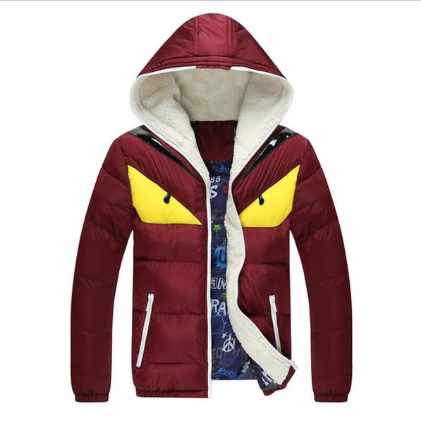 2017 новый бренд мужские зимние куртки и пальто мода с капюшоном мужская куртка при
