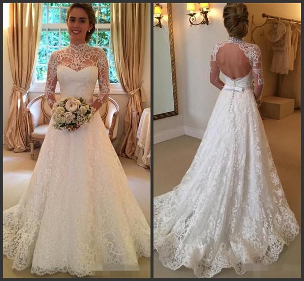 Venta al por mayor Vestidos de novia del vestido de bola caliente de ...