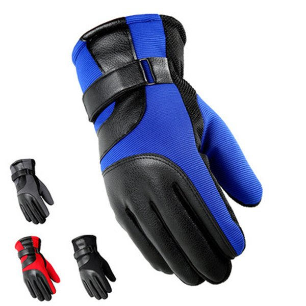 New Free Shipping Cycling Gloves Winter Bike Bicycle Gloves Riding Gym Full Finger Outdoor Sports Shockproof Mittens Warmly Sports Gloves