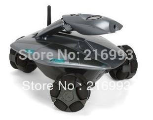 [New arrival] [Hot sale] Wireless remote control intelligent robot Electric intelligent lovely military vehicle type toy