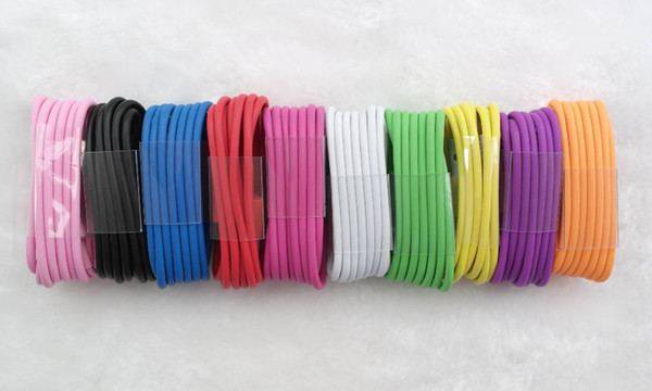 Good Quality 1M 3FT Micro V8 USB Sync Charger Cable Colorful Cord For Samsung Galaxy S6 S4 5 6 LG Sony HTC Android Smart Mobile Cell Phone